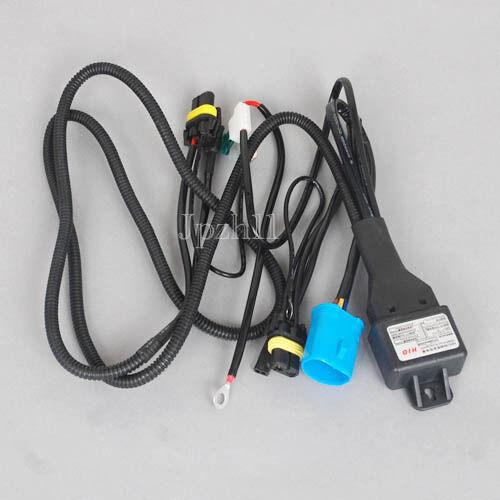 35W//55W Car HID Bi-Xenon 9007-3 Bulbs Hi//Lo Controller Fuse Relay Wire Harness #