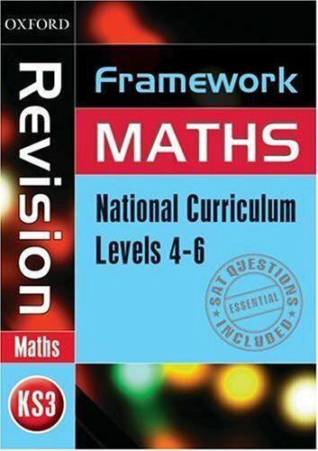Framework Maths: Level 4-6 Revision Book: Revision Book Level 4-6 By Capewell,M
