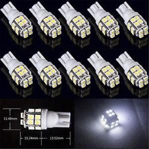 10x-T10-20-SMD-LED-blanco-Super-brillante-Bombilla-Faros-de-coche-168-194-168-501-2825-W5W