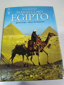 Majestuoso Egipto Gerard Sioen Olivier Libro Gran Formato Tapa Dura Español