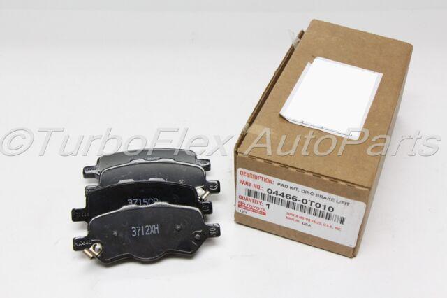 04466-0T010 Brake Pad Kit Genuine Toyota