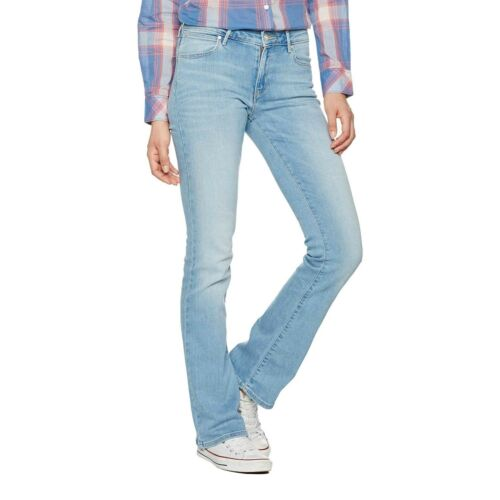 Frauenjeans W28BX786M Bootcut Summer Feeling Wrangler Damen Jeans