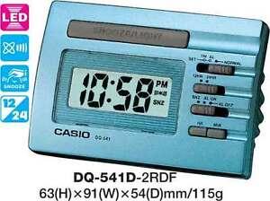 AUSSIE-SELLER-CASIO-CLOCK-DQ-541D-2R-DQ541-ALARM-LED-LIGHT-12-MONTH-WARRANTY