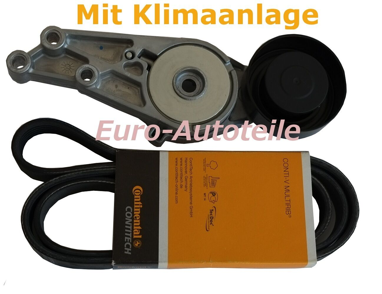 DAYCO 6PK1538 Spannrolle Umlenkrolle Bmw 3er E46 5PK865 Keilrippenriemensatz
