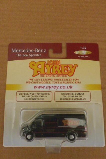 Cmnl John Ayrey Diecasts Mercedes Sprinter Van Ukvan0001 1 76 For Sale Ebay