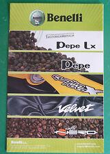 BENELLI PEPE VELVET CAFFE NERO QUATRONOVE X SCOOTER  BROCHURE DEPLIANT RECLAME