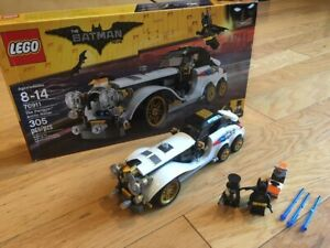 Lego Batman Movie Set 70911 The Penguin Arctic Roller 100 W Box Instructions 673419267755 Ebay