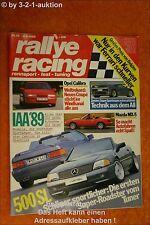 Rallye Racing 19/89 DB 500 SL Mazda MX 5 Zender BMW 850