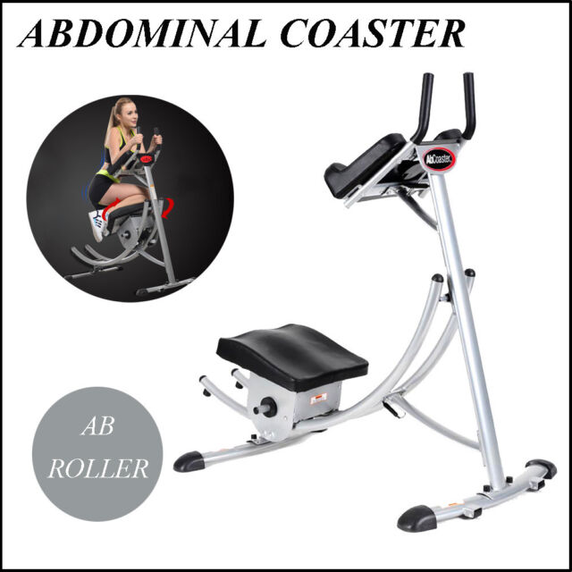 65fd0d9a54 AB Coaster Max Exercise Machine 6 ABS Abdominal Crunch Muscle Buliding  Equipment for sale online