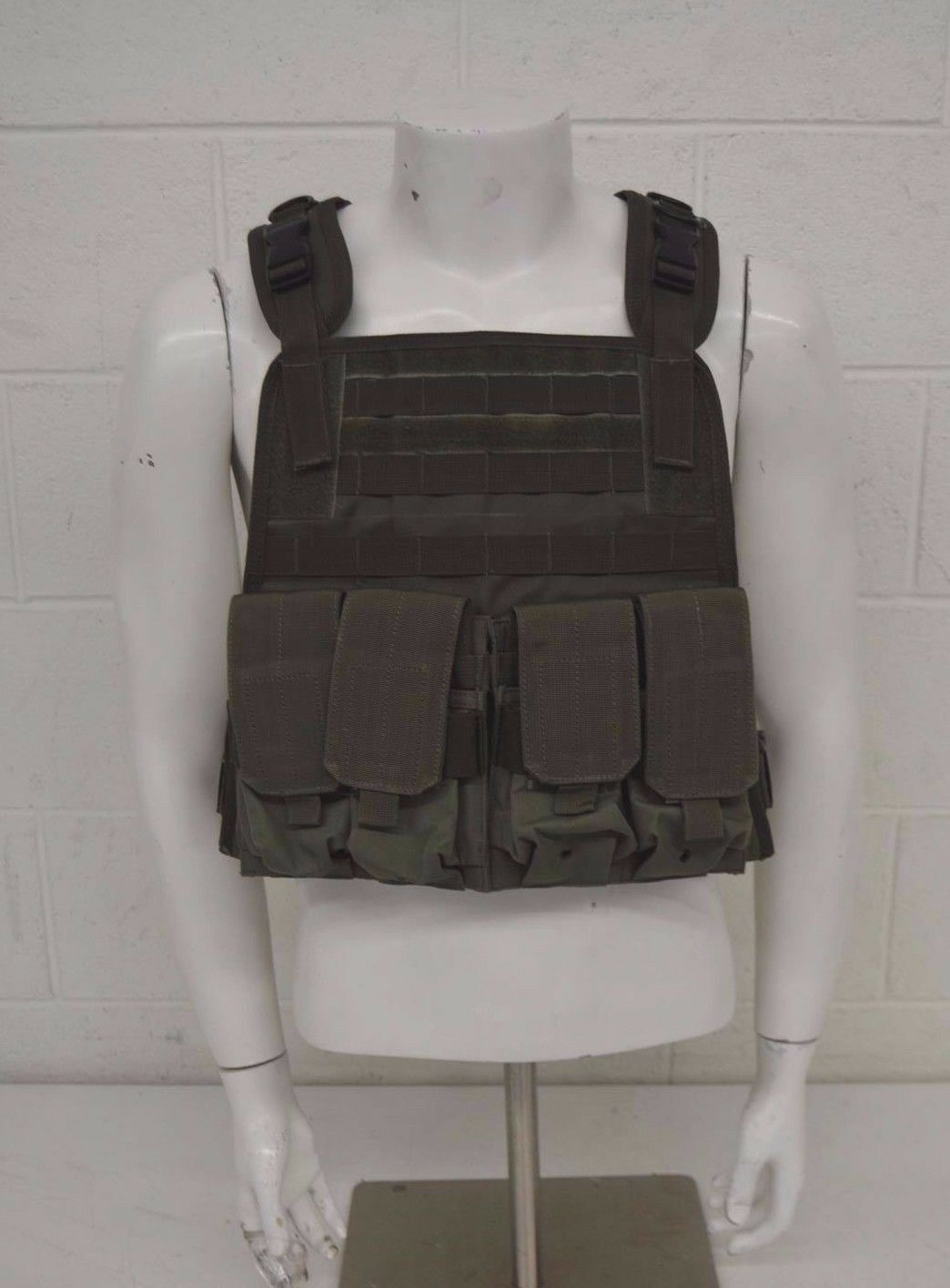 Condor MOPC Modular Operator Plate Carrier w 4 Magazine &  Large Pouches MINT  sale