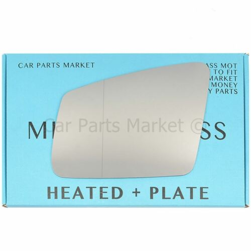 plate For Mercedes CLS C218 11-16 Left side Aspheric Electric wing mirror glass