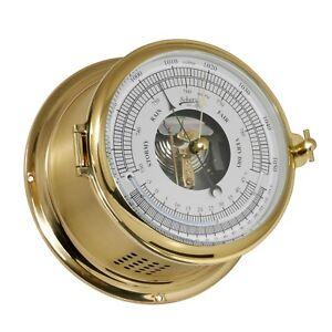 Vion Nautika Maritimes Bootsport Haushalt Thermometer Hygrometer Edelstahl 130mm