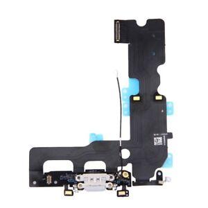 Dock-Flex-Conector-Microfono-Cable-Flexible-Apple-Iphone-7-Plus-de-Carga-Gris