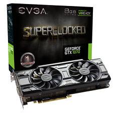 EVGA GeForce GTX 1070 8GB GDDR 5 SC Superclocked ACX scheda grafica Gaming 3.0