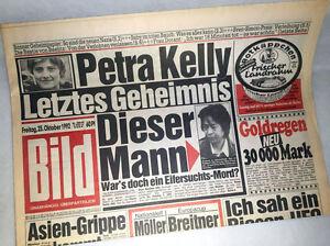 Bild-newspaper-dated-23-10-1992-24-25-26-Birthday-Petra-Kelly