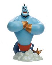 Disney Aladdin Blue Genie & Lamp Action Figure Village Figurine Toy Cake Topper