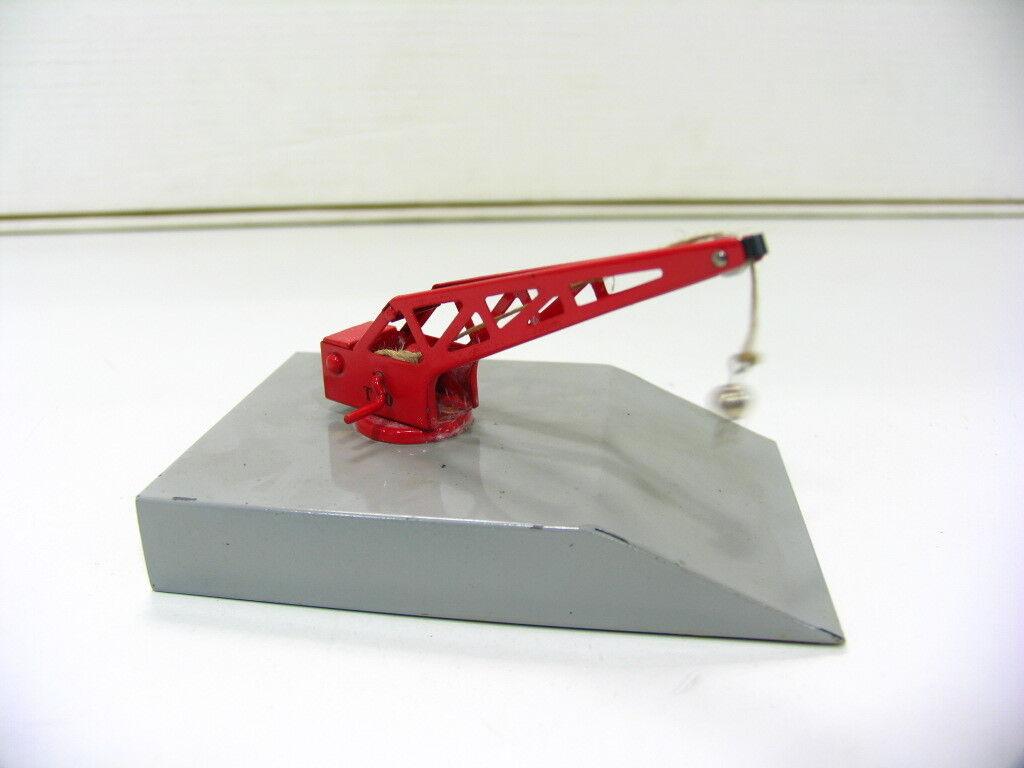 Märklin 429 Loading Ramp With Red Crane toooopppp fp1371