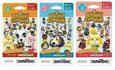 Animal Crossing Amiibo Card 3 PACK New Horizons Nintendo ...