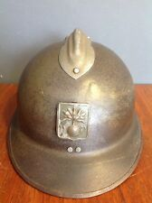 Antique French M15 Adrian Combat Helmet By Filly Gumbo WWll
