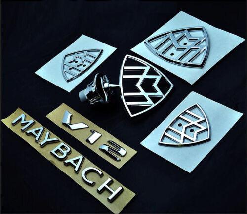 Mercedes Maybach S Class W222 S400 S450 S500 S560 S600 S680 Emblem Badges OEM