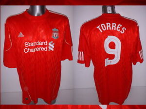 9099a372d38 Image is loading Liverpool-TORRES-Adult-XXL-Adidas-Shirt-Jersey-Soccer-