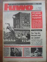 FUWO 13 - 31.3. 1981 Jürgen Croy Zwickau-Dresden 3:0 BFC-Aue 5:1 Riesa-1.FCM 2:1