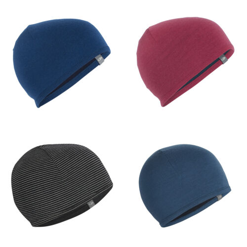 doux et chaud Icebreaker Pocket A-sportive Tournant Bonnet-Respirant