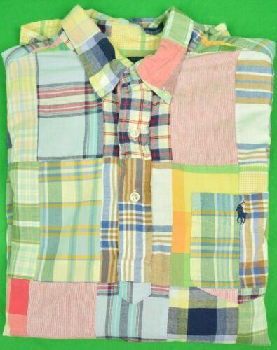 Ralph Lauren Patch India Madras L/S BD Sports Shir