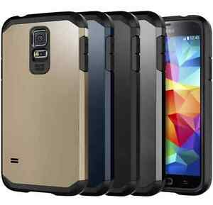 the best attitude 954b2 5763f Details about Branded Tough Armor Case Cover For Samsung Galaxy S5 + Free  Screen Protector