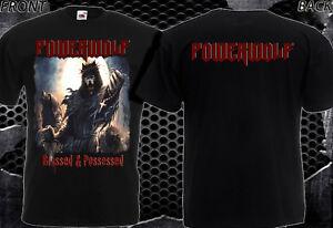 Powerwolf béni /& possédé-NEW T-shirt homme-DTG Imprimé Tee Taille-S//7XL