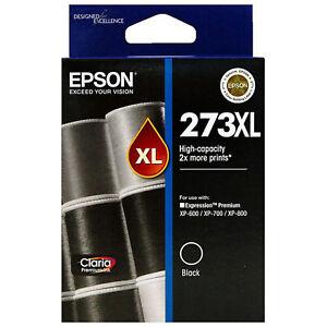 GENUINE-Original-Epson-273XL-Black-Ink-Cartridge-High-Capacity-Claria-T274192