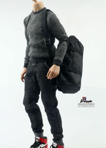 "1//6 Sports Backpack DIY Robber Large Bag F 12/"" Male Military Figure Body"
