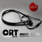Professional Dual Head Medical Neonatal Pediatric Stethoscope All Black