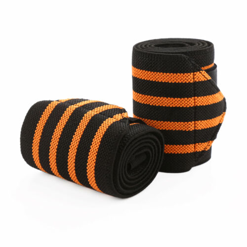 """18/"""" 24/"""" Wrist Wraps Weightlifting Gym Gloves Support Straps Boxing Strap 2 Pack"""