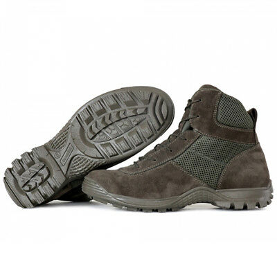 Men/'s Boots Shoes Tactical Combat Leather Russian Ankle Hiking Olive Garsing