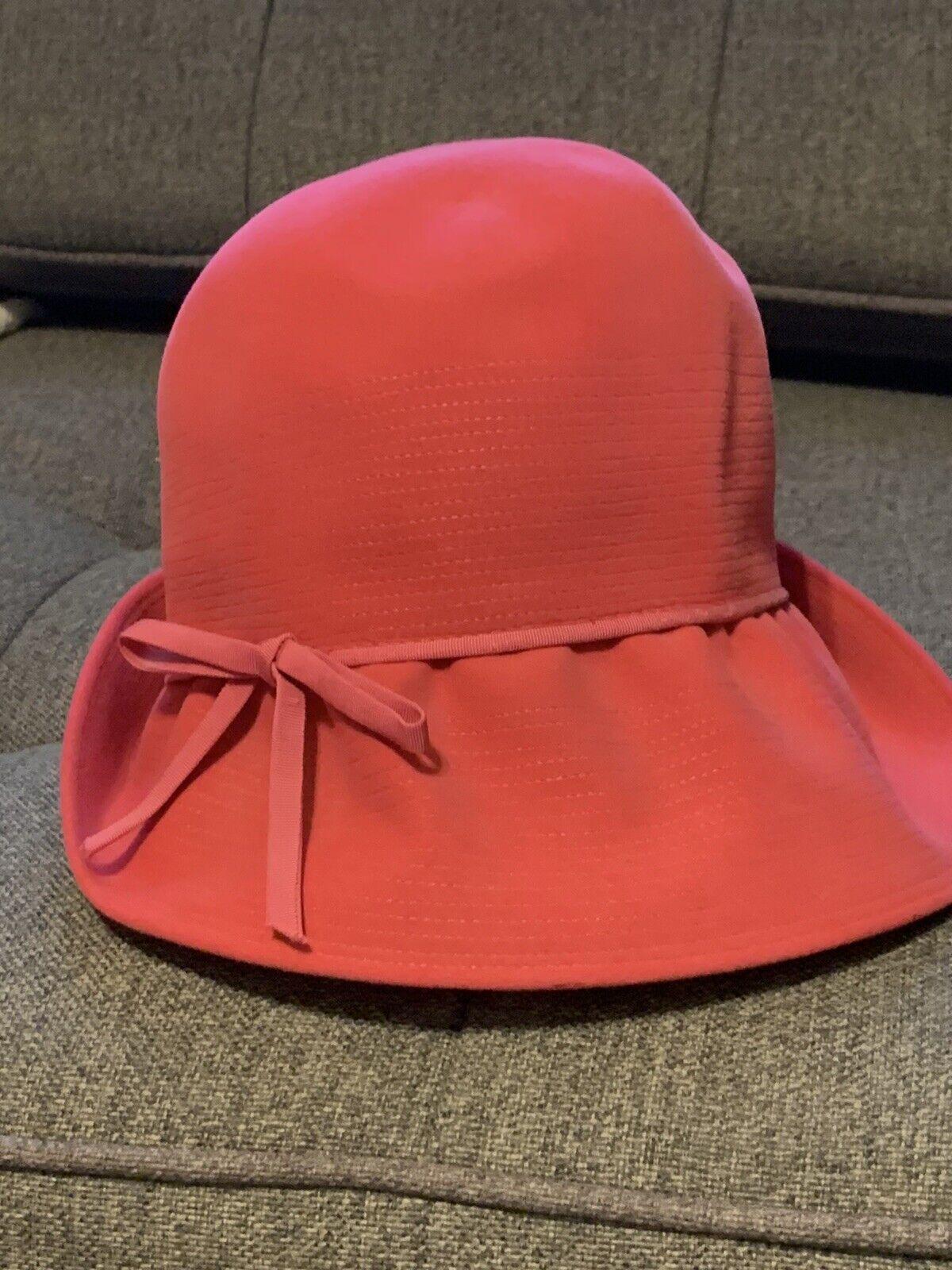 CHRISTIAN DIOR VINTAGE PINK BUCKET STYLE HAT - image 2