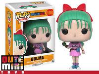 Funko Pop Japan Anime Dragon Ball Z Bulma 7426 108 Vinyl Figure - In Stock
