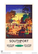 Vintage Transport Railway Rail Travel Advertising Poster RE PRINT Buxton