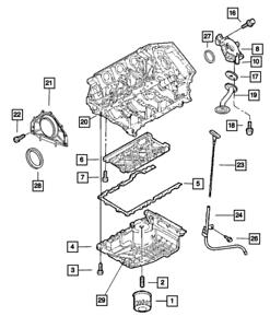 04-06 Dodge Stratus Chrysler Sebring 2.7L V6 ENGINE OIL DIPSTICK MOPAR  4792385AB | eBayeBay
