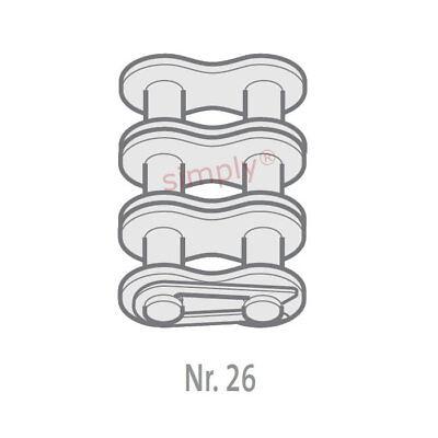 2019 Mode Renold Bb 80-3-no26 Ansi/as Triplex Chain Conn Link With Spring Clip 1 Inch Warm En Winddicht