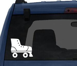 Sport-Footwear-3-Classic-Roller-Skates-Silhouette-Car-Tablet-Vinyl-Decal