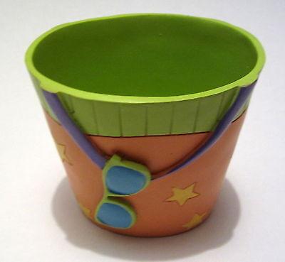 Just Beachy Beach Bucket Sunglasses Ocean Seashore Tumbler Cup