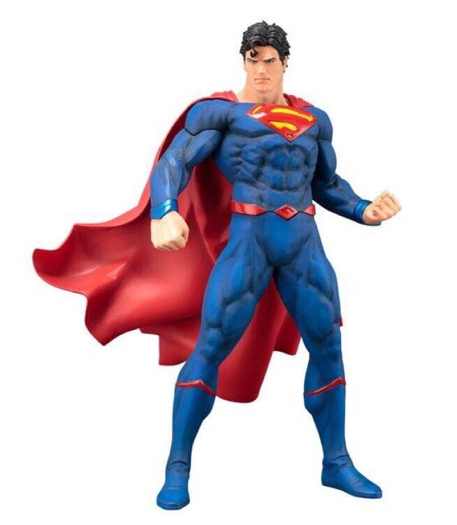 DC Comics : Superman Rebirth Official ARTFX+ Statue By KOTOBUKIYA