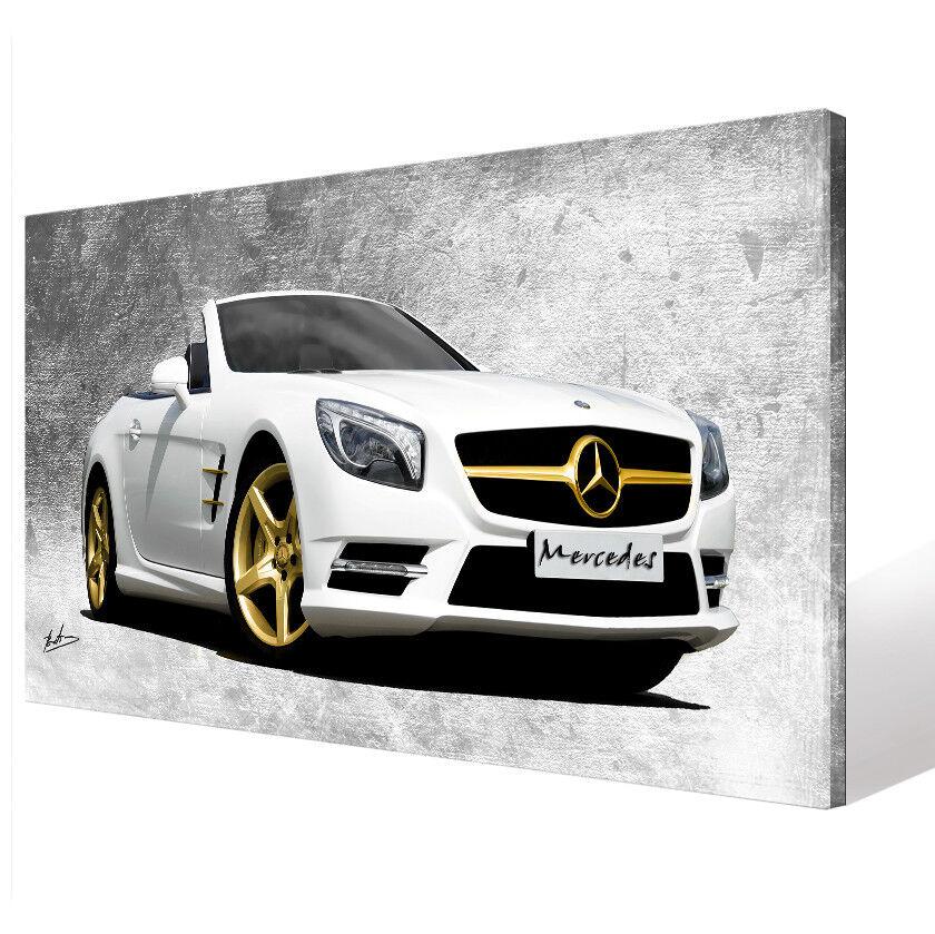 Mercedes Benz Voiture 1770 Sport DECO Images Sur Toile D'art LA FRESQUE 1770 Voiture A 2d974d