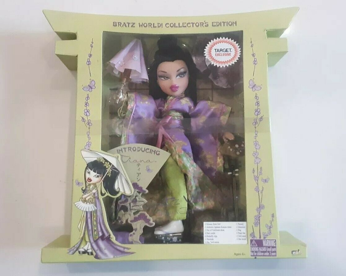 Bratz World  Collector's Edition Tokyo Japan Tiana Target Exclusive.Never opened