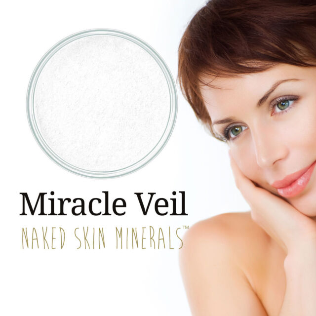 Mineral Makeup Miracle Veil Bare / Naked Skin Minerals by NCInc 10ml Jar ( 3g )