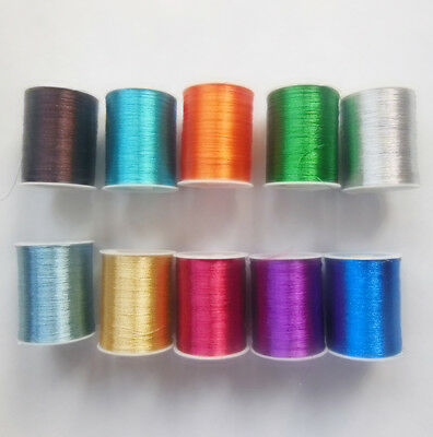 1   ,5pcs embroidery thread - metal 100 yards /pcs Wholesale