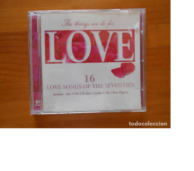 CD THE THINGS WE DO FOR LOVE (BB)