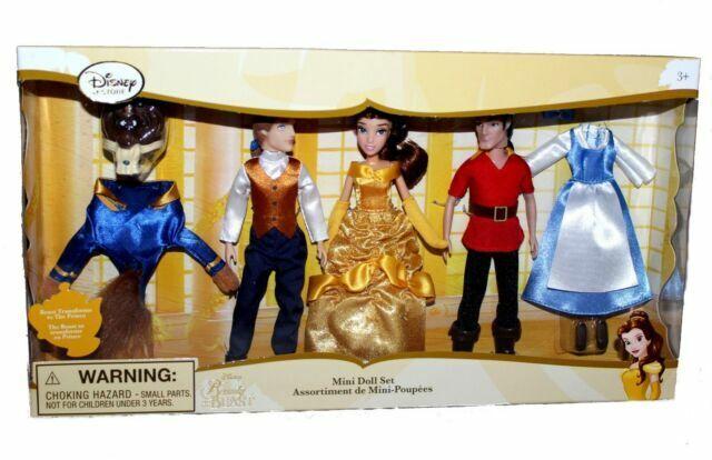 Beauty and the Beast Mini Doll Set Disney