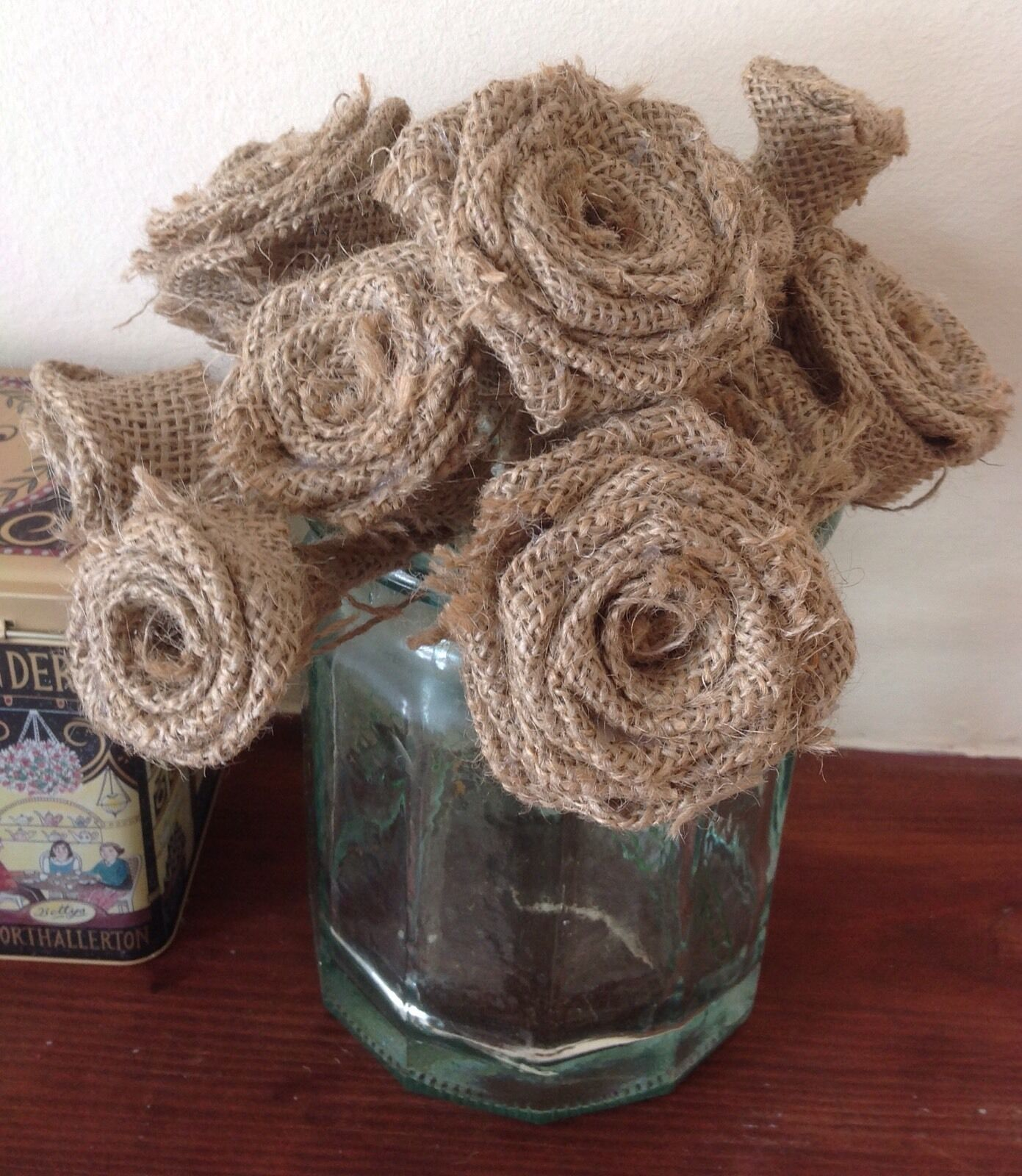 De Hesse ROSES Tiges Handmade Bouquets Mariage x 40